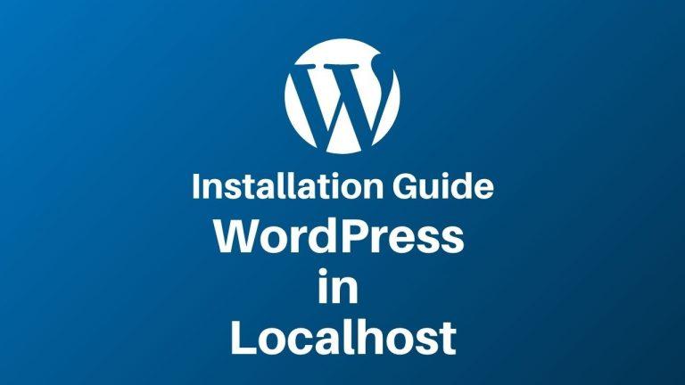 WordPress in Localhost