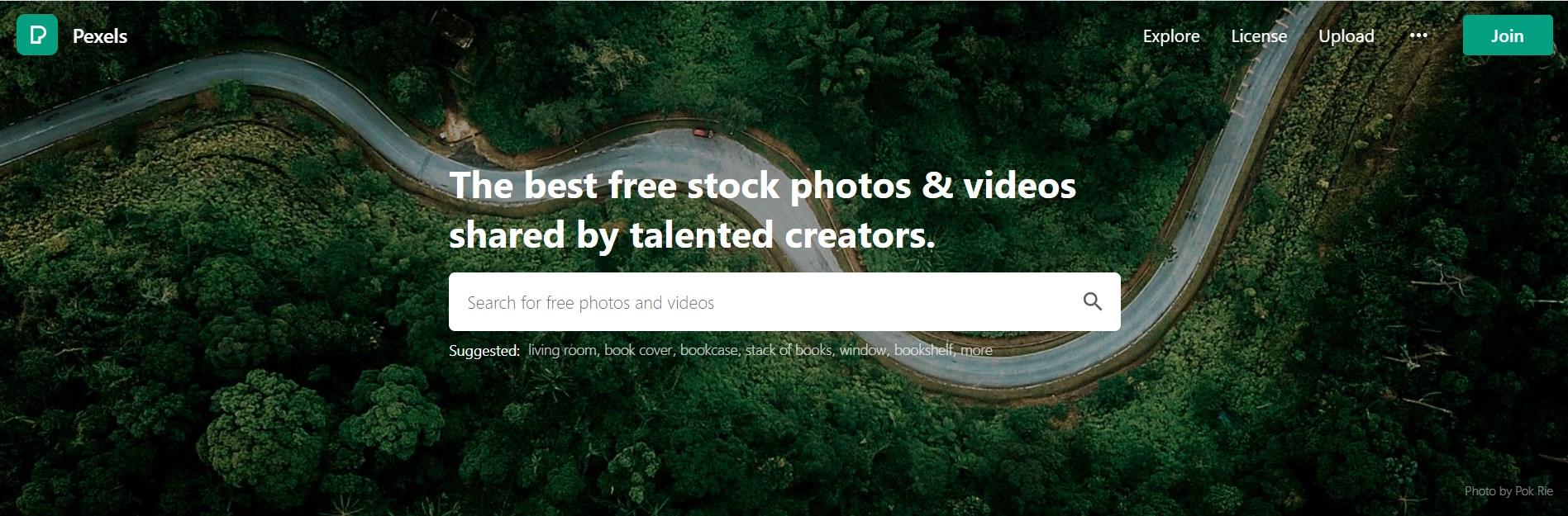 Pexels free stock images website - bigwigblooger