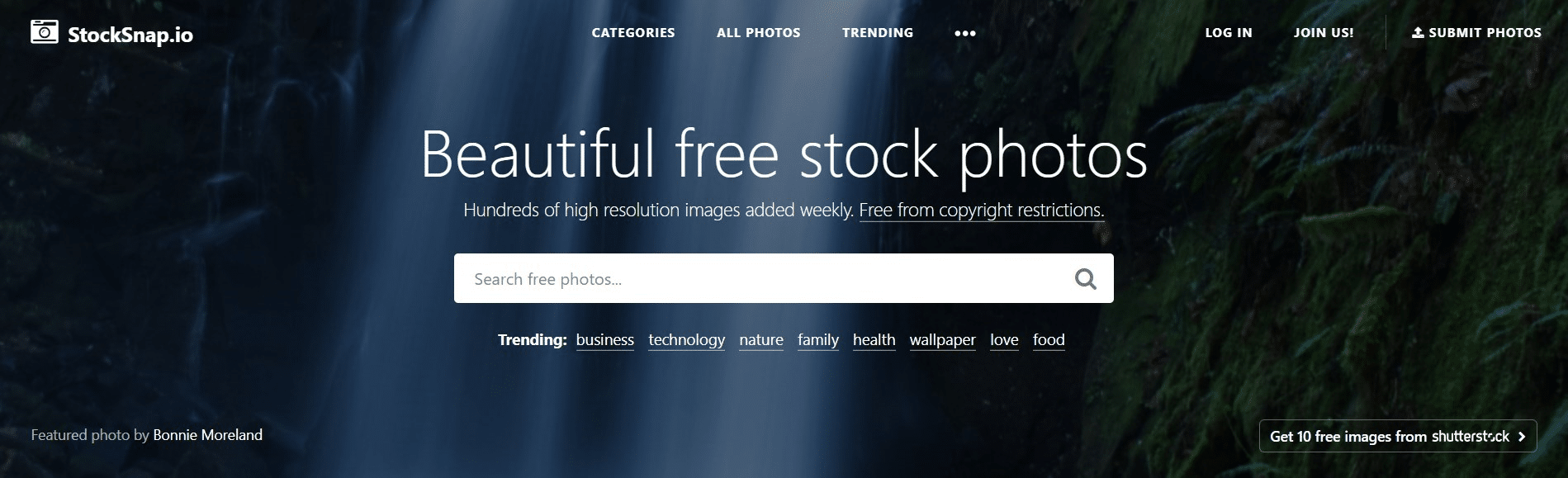 Stocksnap.io free images for website.