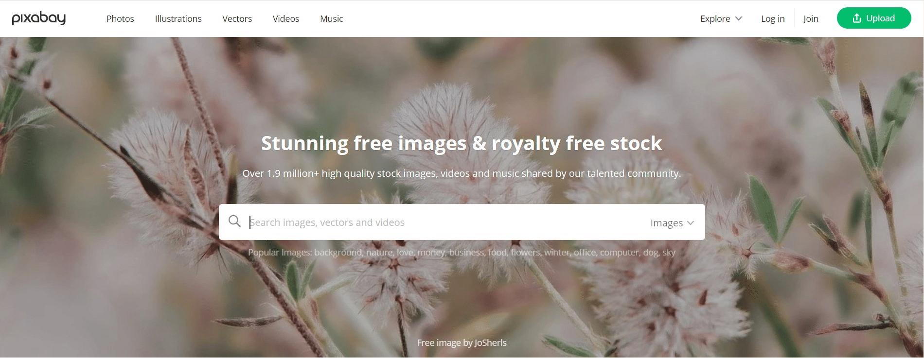 Pixabay-free stock images website -bigwigblogger